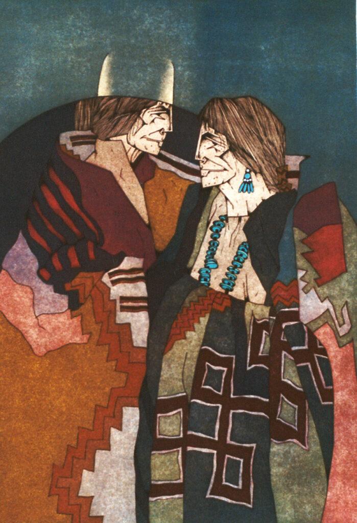 Amado M. Peña Jr: Colcha Series: Amores IV/VII