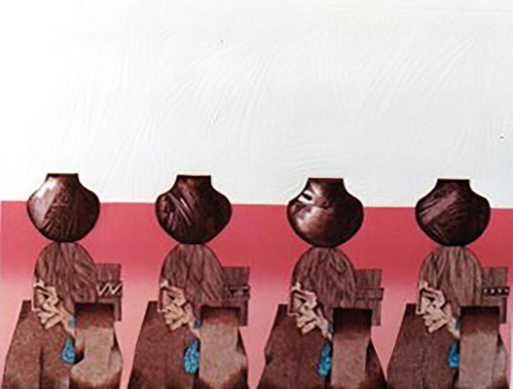 Amado M. Peña Jr: Cuatro Pordadoras 53/65