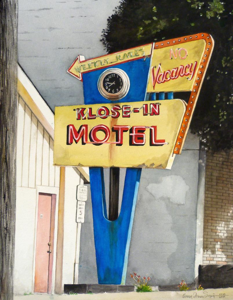 Penny Thomas Simpson: Klose-In Motel