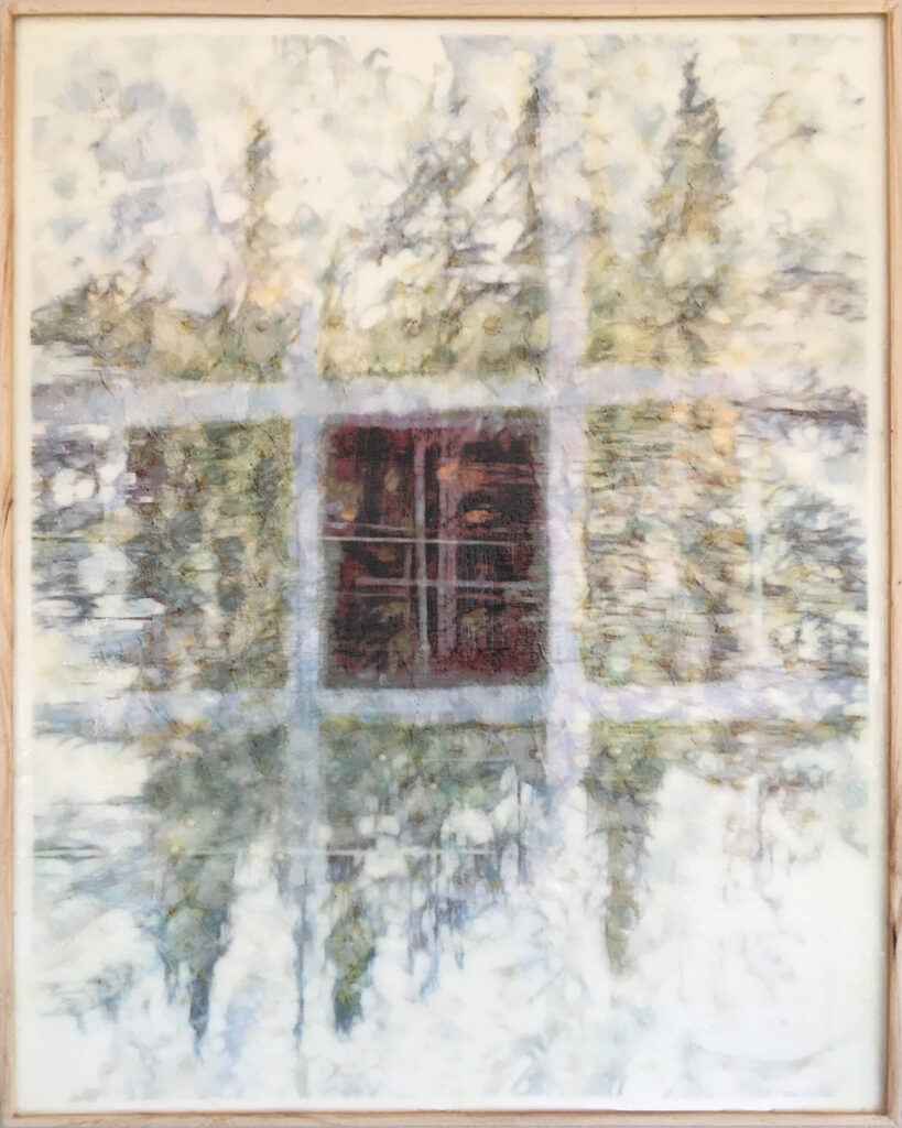 Carol Mell: Light Weaving in the Forest #2