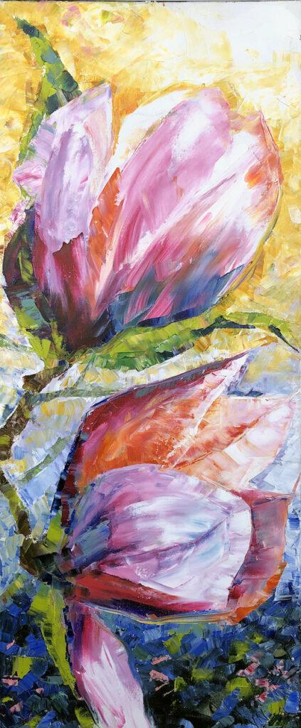 Vera Neel: Magnolia Flowers