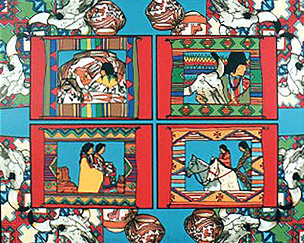 Amado M. Peña Jr: Mestizo Series, La Coleccion 1/40