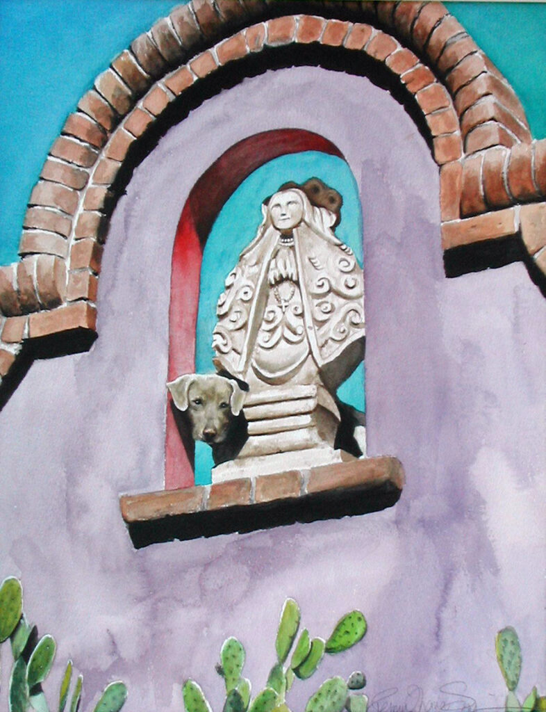 Penny Thomas Simpson: Mexican Roof Dog