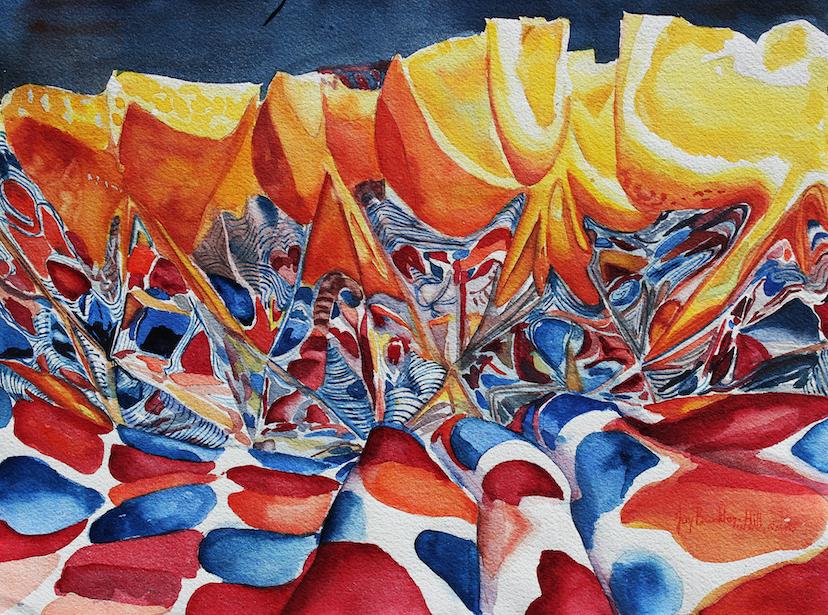 Joy Brinkley-Hill: Oranges, Refracted