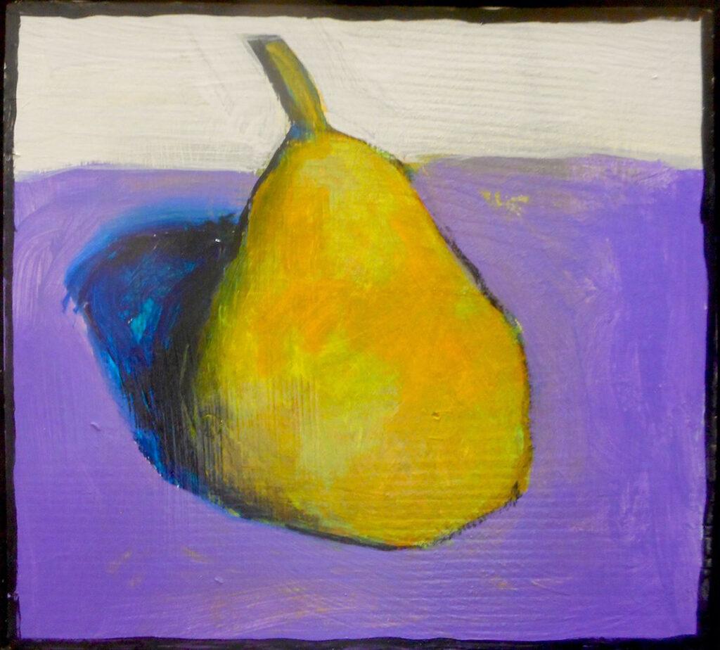 Santiago Perez: Pear (purple)