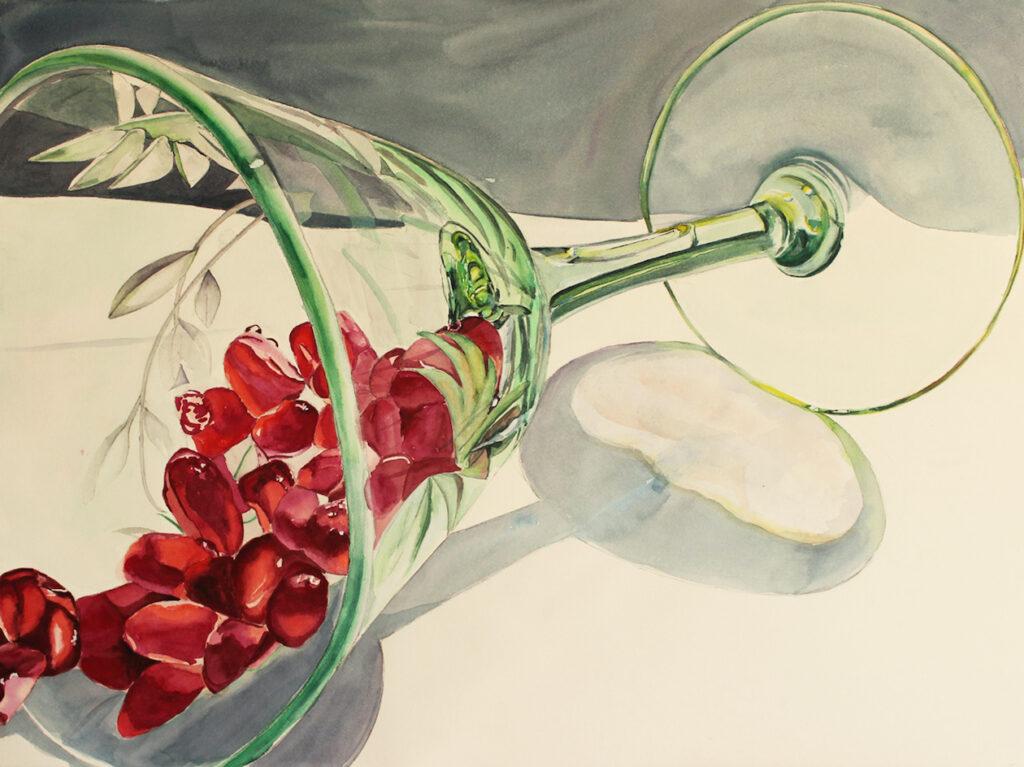 Joy Brinkley-Hill: Pomegranate Aperitif