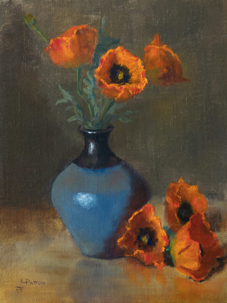 Lynne Patton: Poppies and Blue
