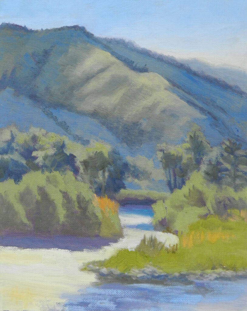 Cathy Haight: Salmon River by North Fork