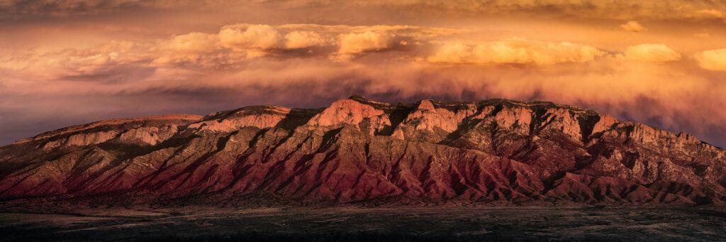 Dennis Chamberlain: Sandias Golden Sunset