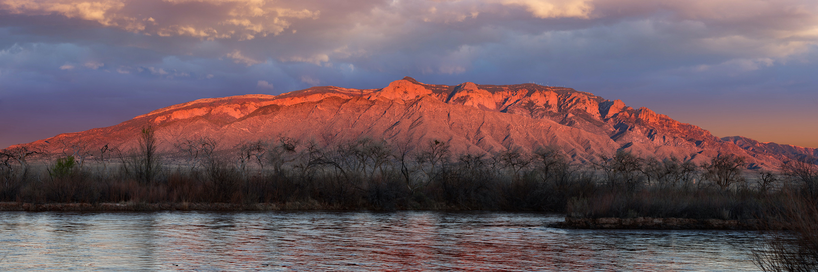 Dennis Chamberlain: Sandias and the Rio Grande