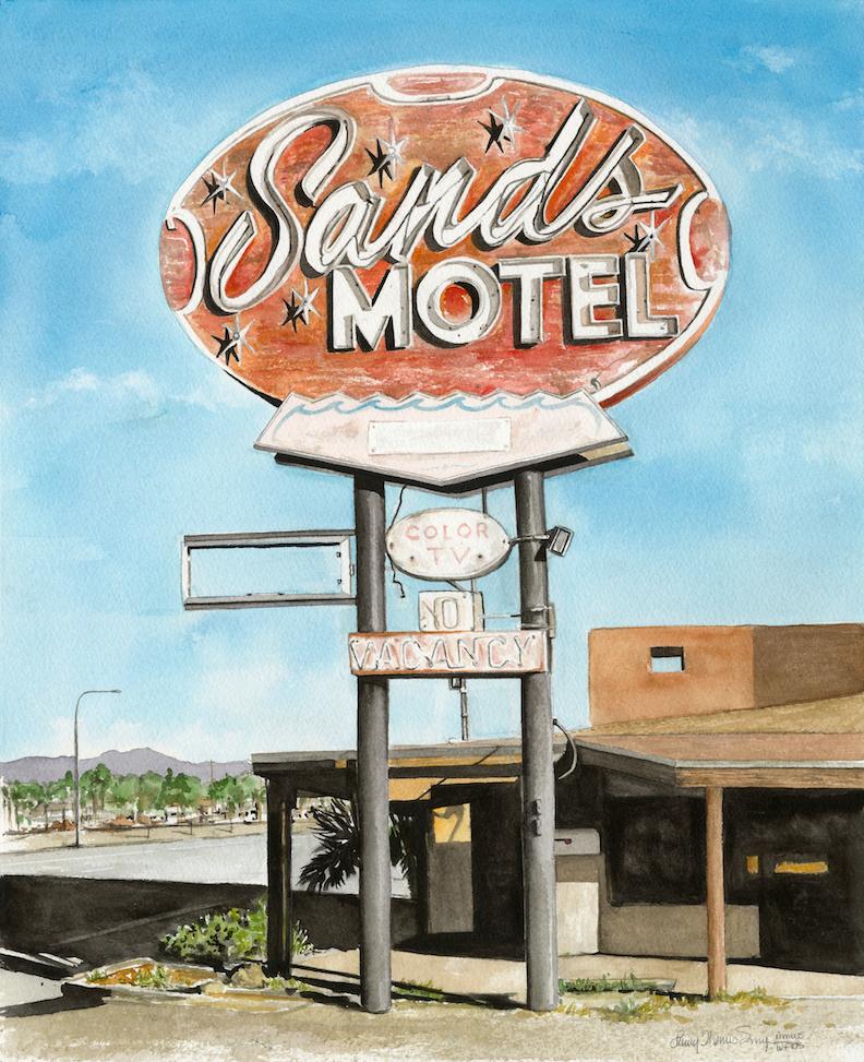 Penny Thomas Simpson: Sands Motel