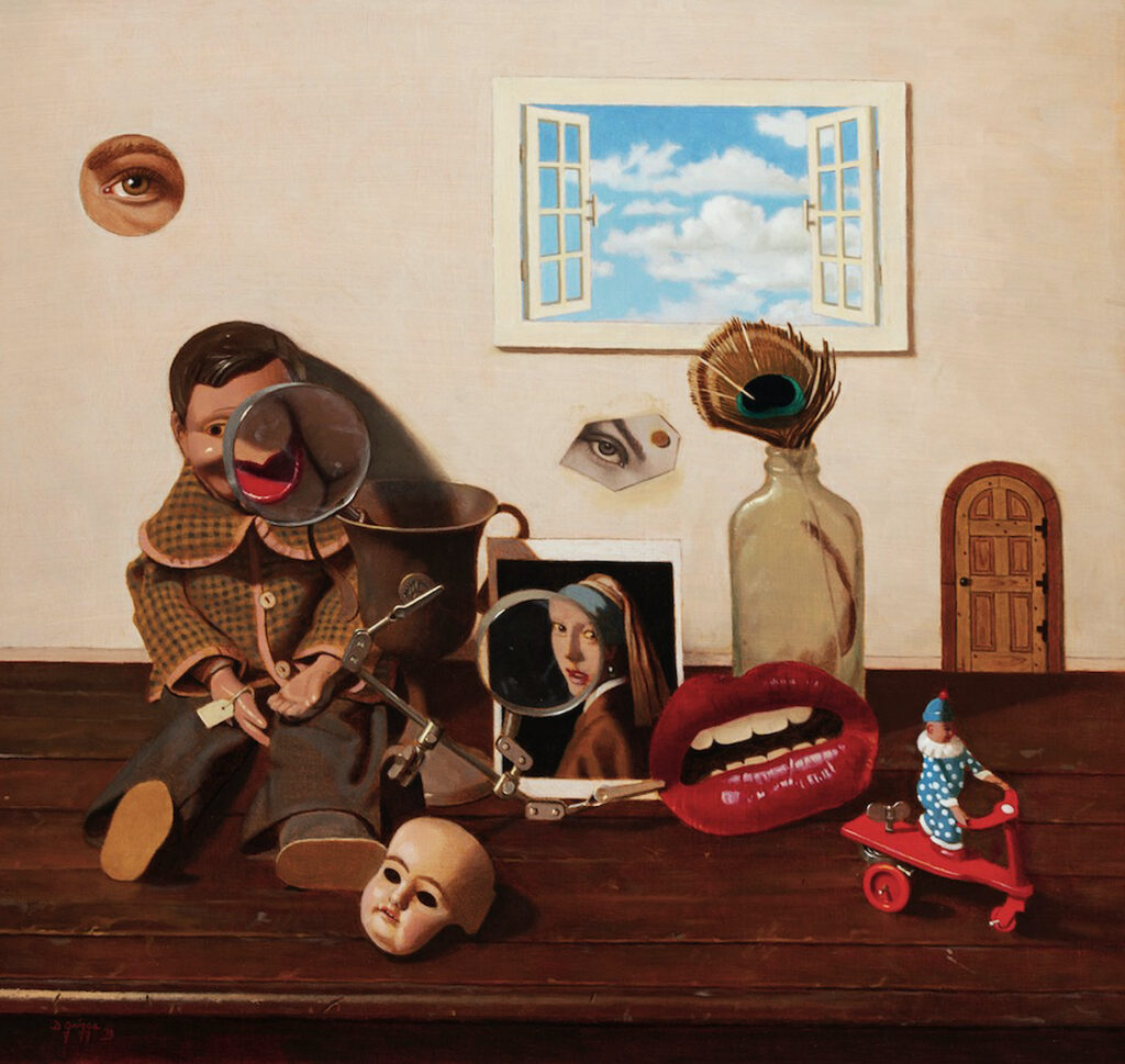 Dan Griggs: Still Life with Doll and Window