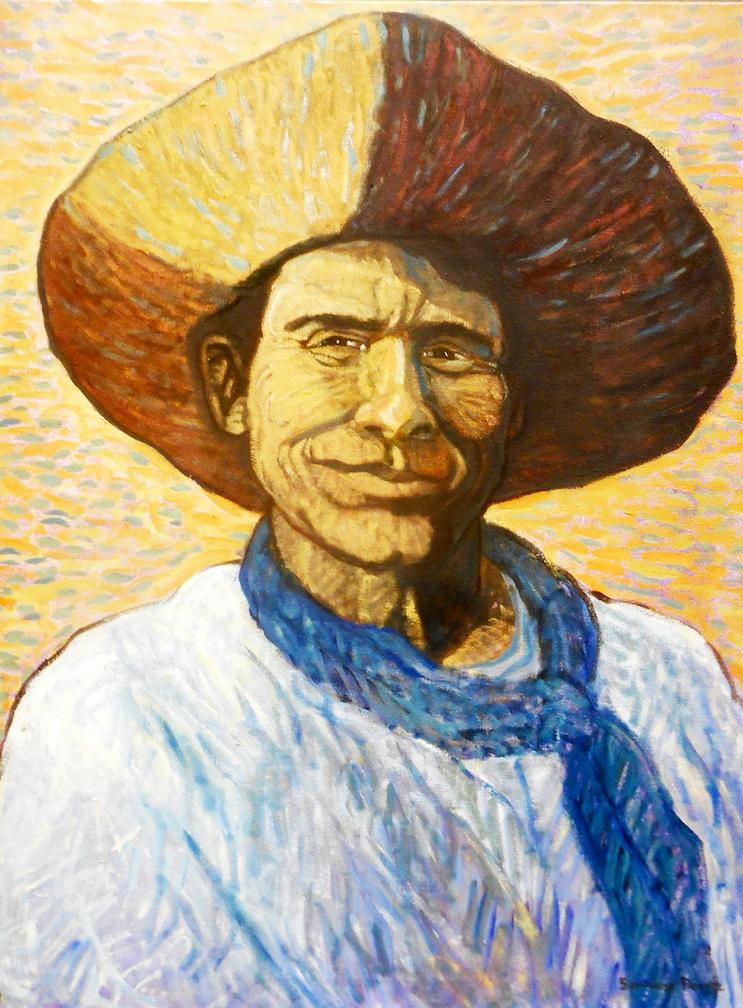 Santiago Perez: That Cowboy Smile!
