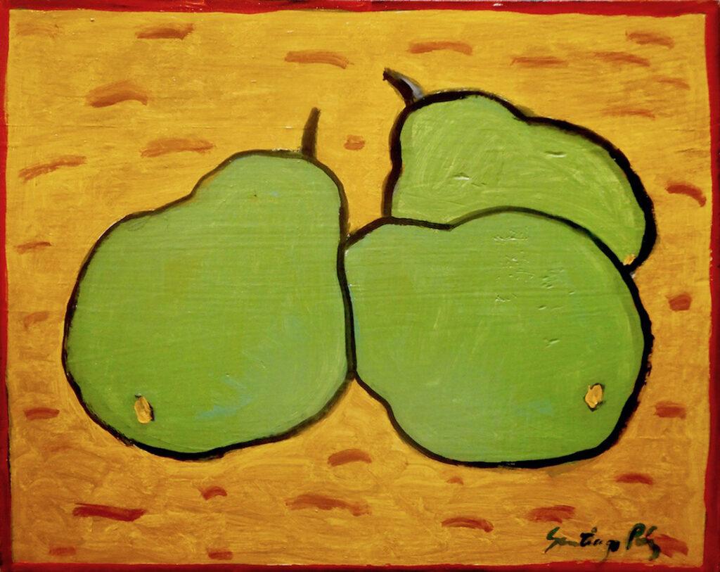 Santiago Perez: Three Pears