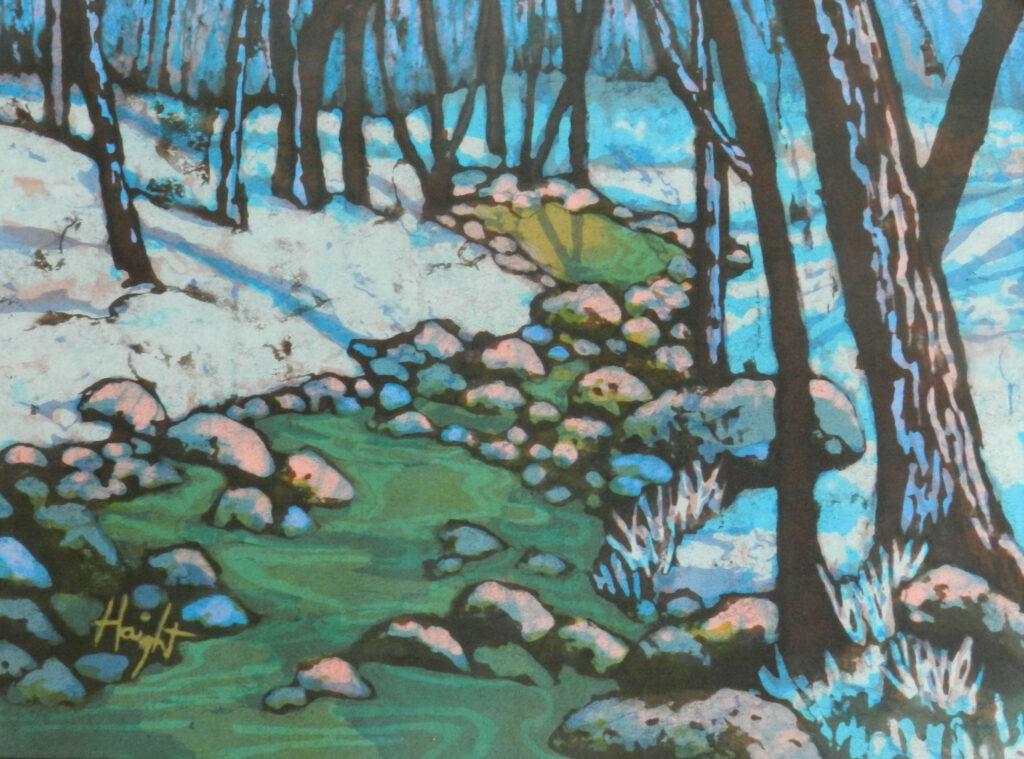 Cathy Haight: Upper Gallinas Creek