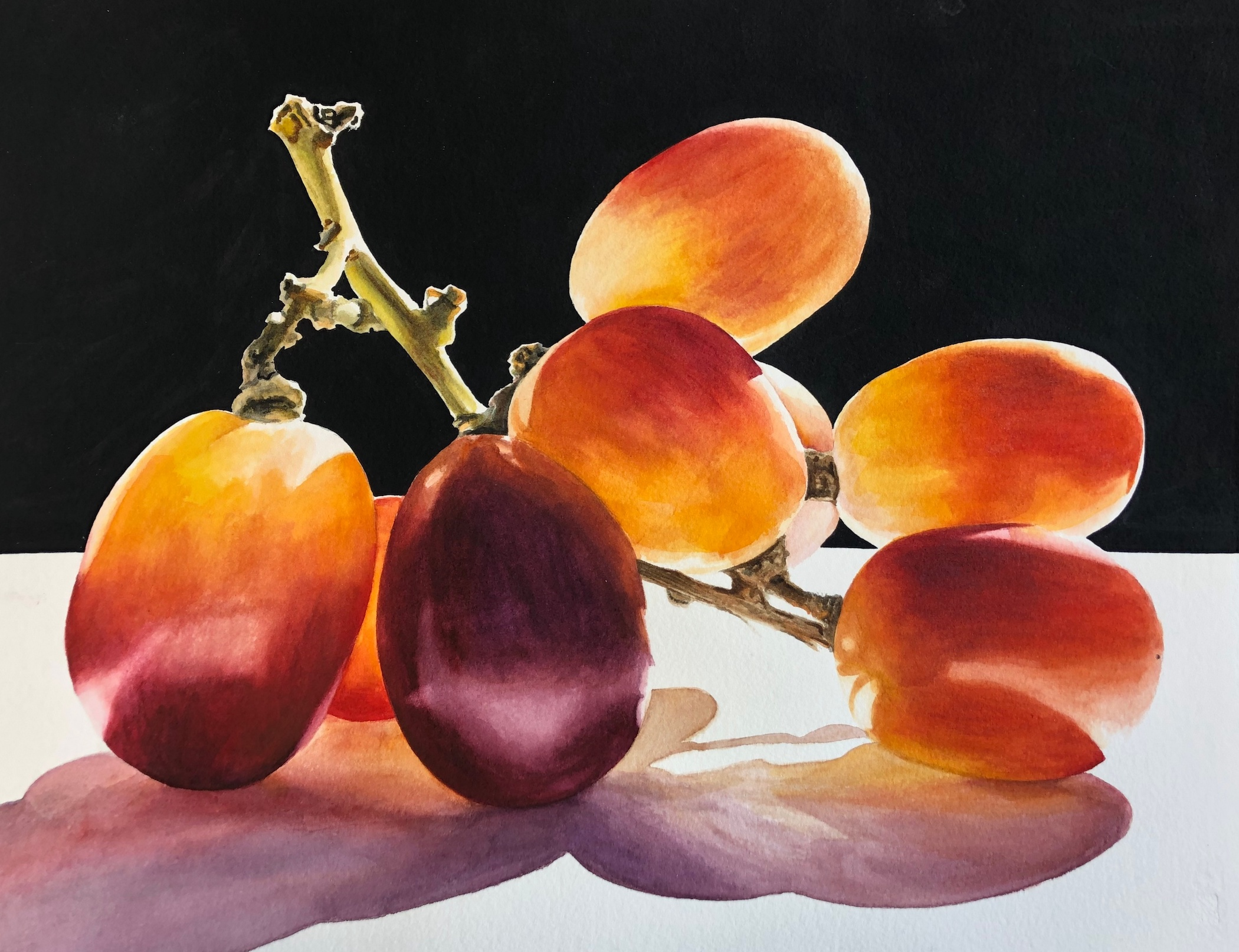 Penny Thomas Simpson: Very Large Red Grapes