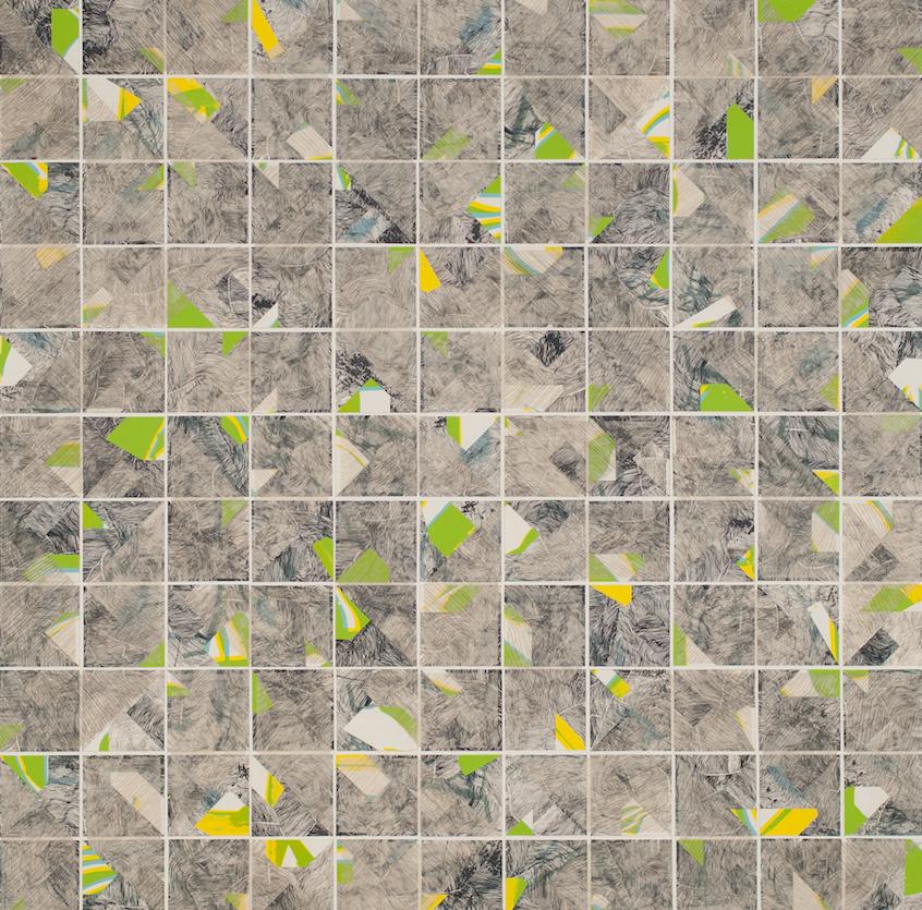 Matthew Bollinger: Tessellation Painting