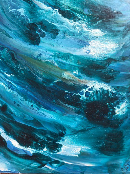 Carolyn Peterson: Big Surf