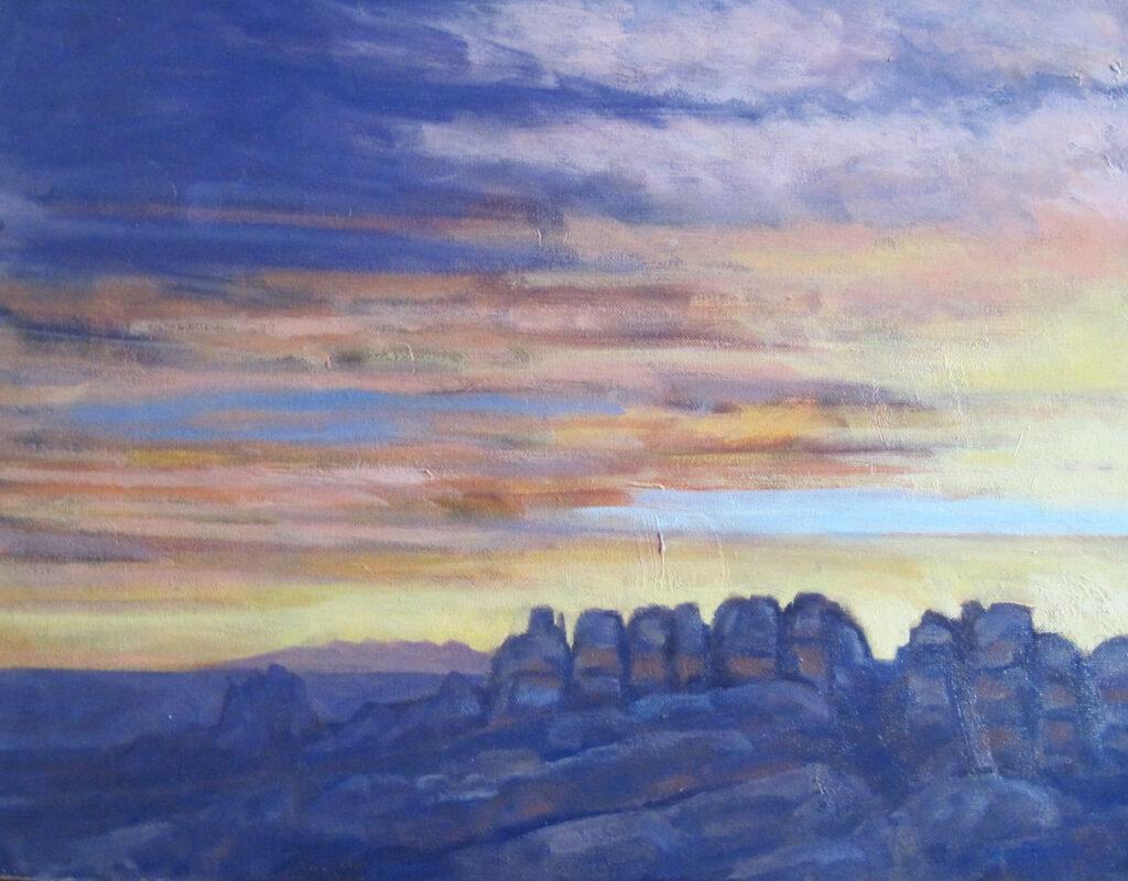 Marc Sherson: Canyon Sunset