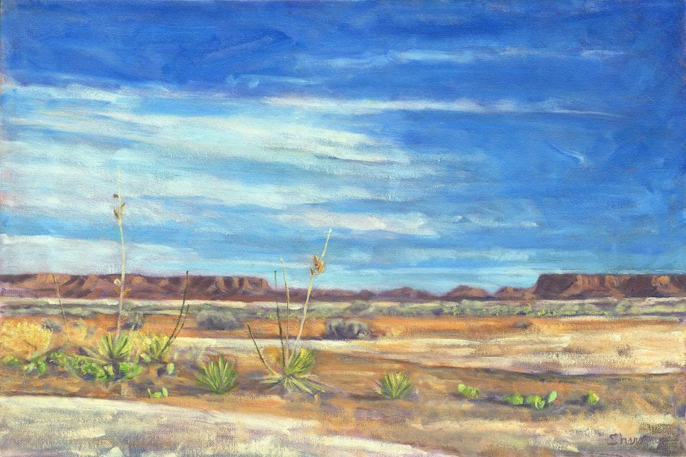 Marc Sherson: Desert Garden