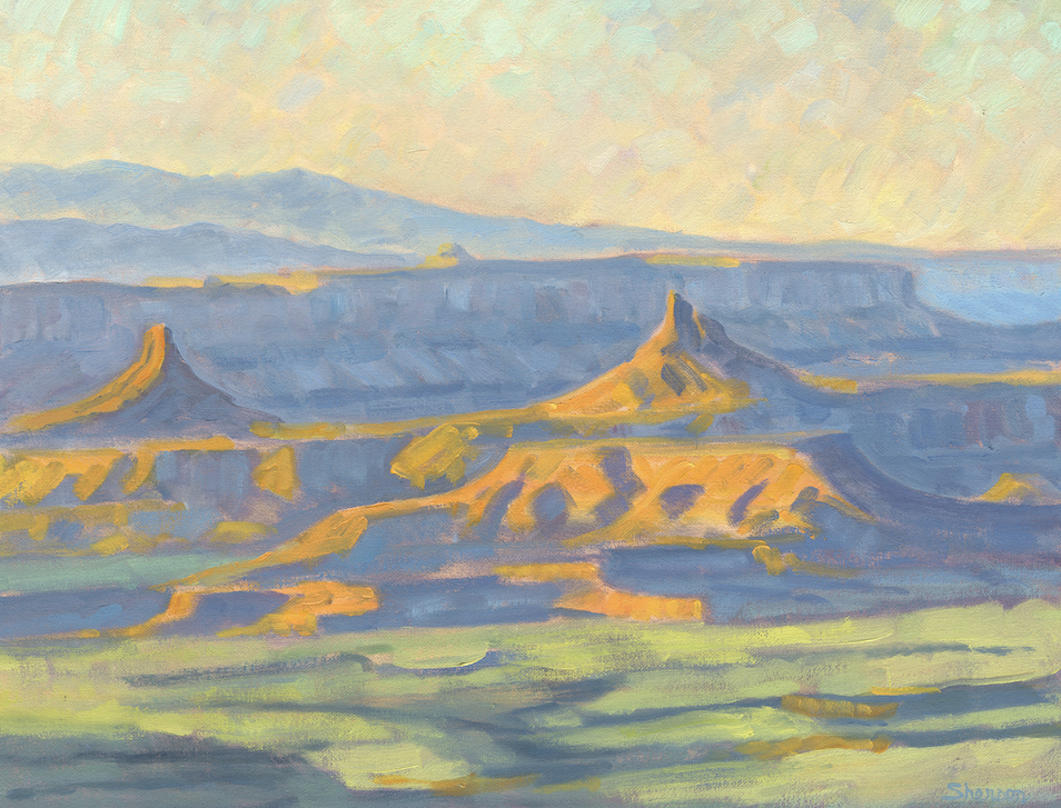 Marc Sherson: Flanks of the Mesa