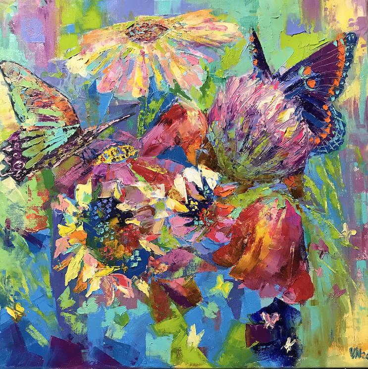 Vera Neel: Flowers and Butterflies
