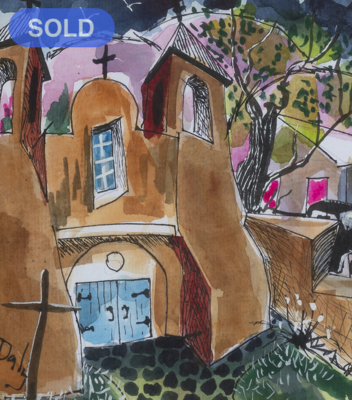 Tom Daly: Just A Church - SOLD