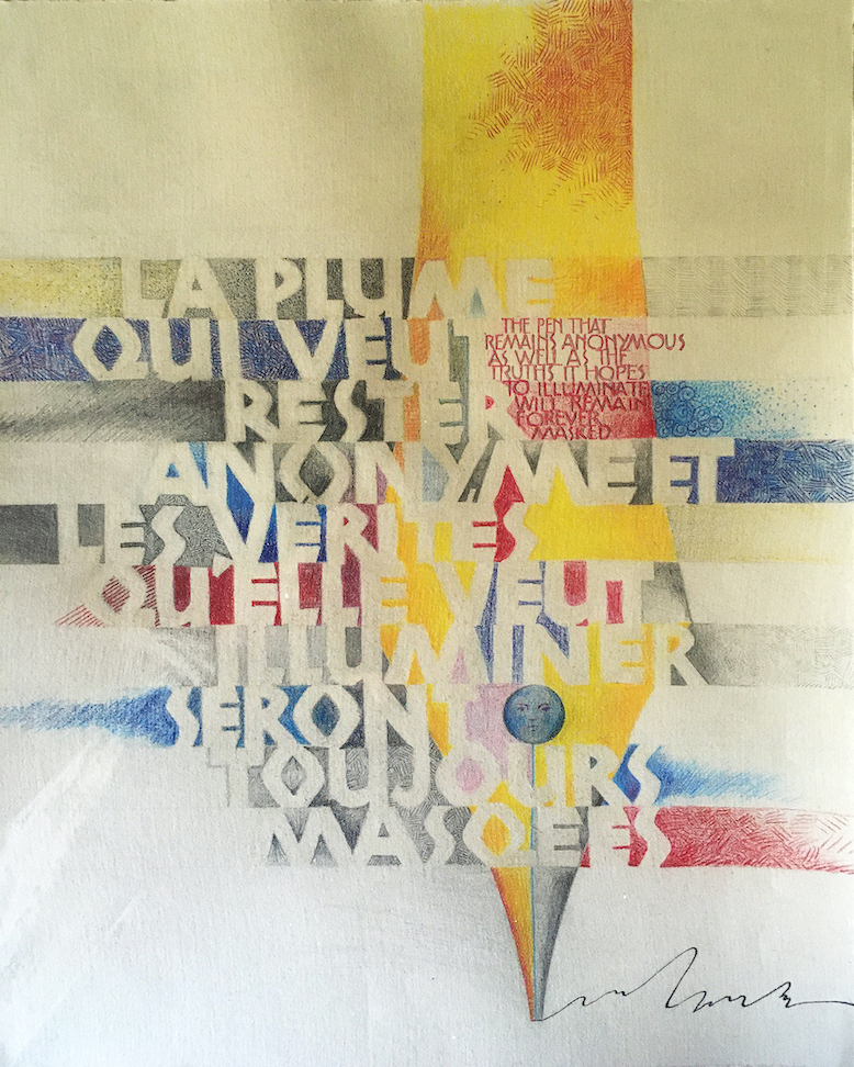 Kathy Chilton: French Pen