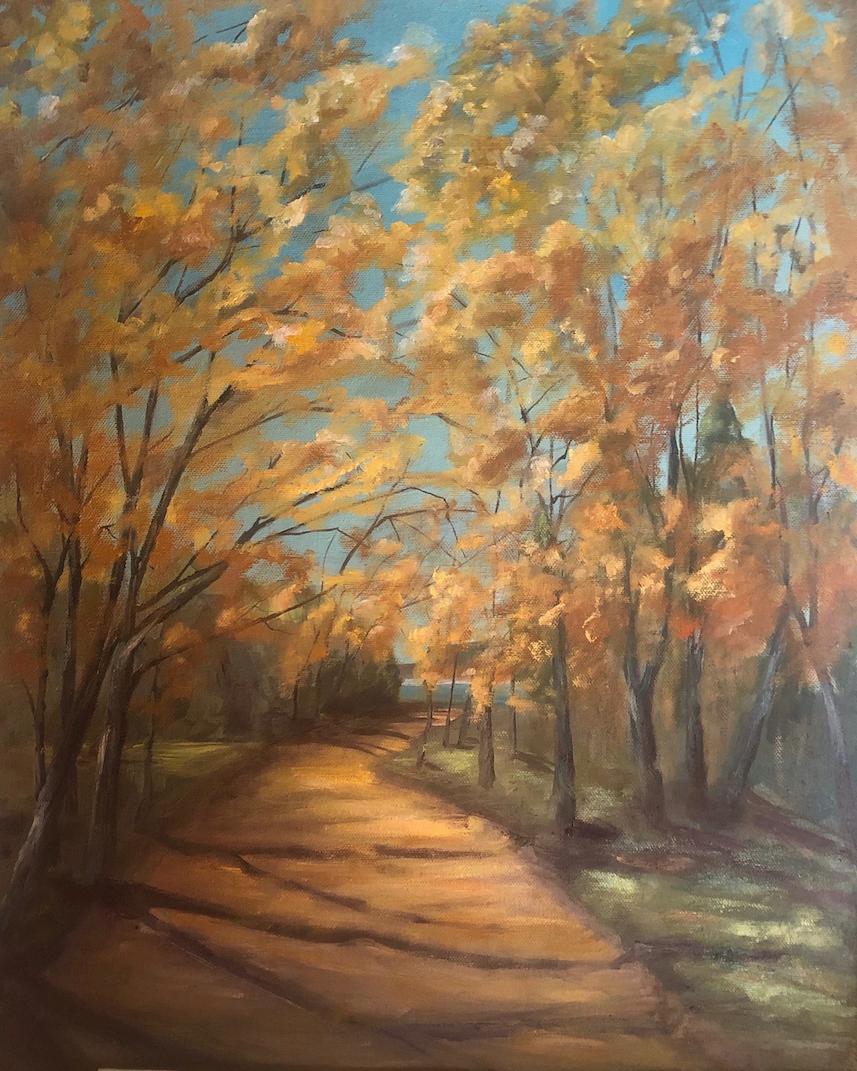 Phyllis A. Gunderson: Monestary Lake Walk