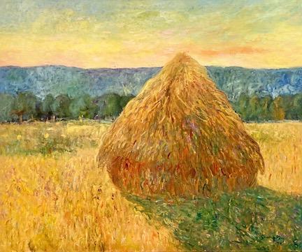 Santiago Pérez: Monet's Grainstack