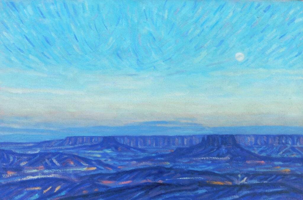 Marc Sherson: Moonset at Dawn