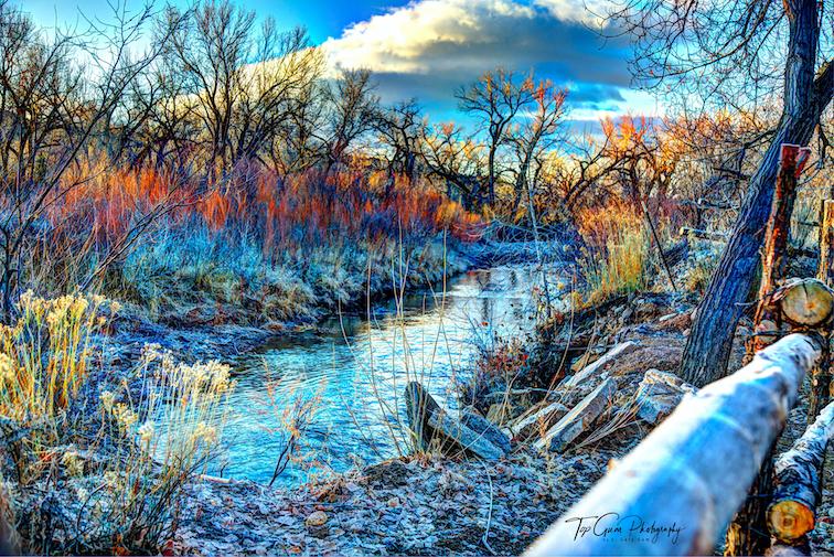 E. Gary Gum: Ojo Winter Morning