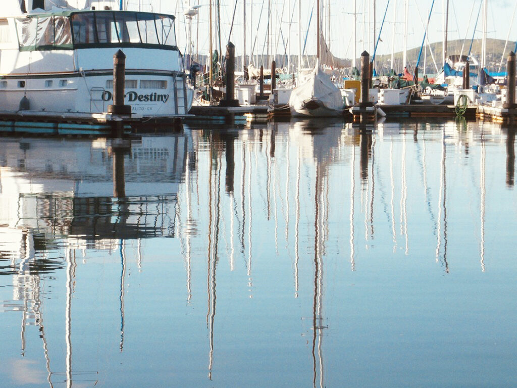 Irene Garden - Reflection Series: Sittin On Top Of The Bay