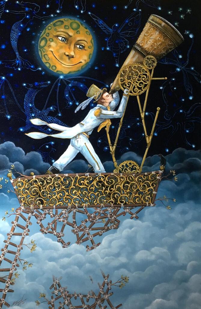 George H Hayes III: Stargazer (Captain Daydreamer)