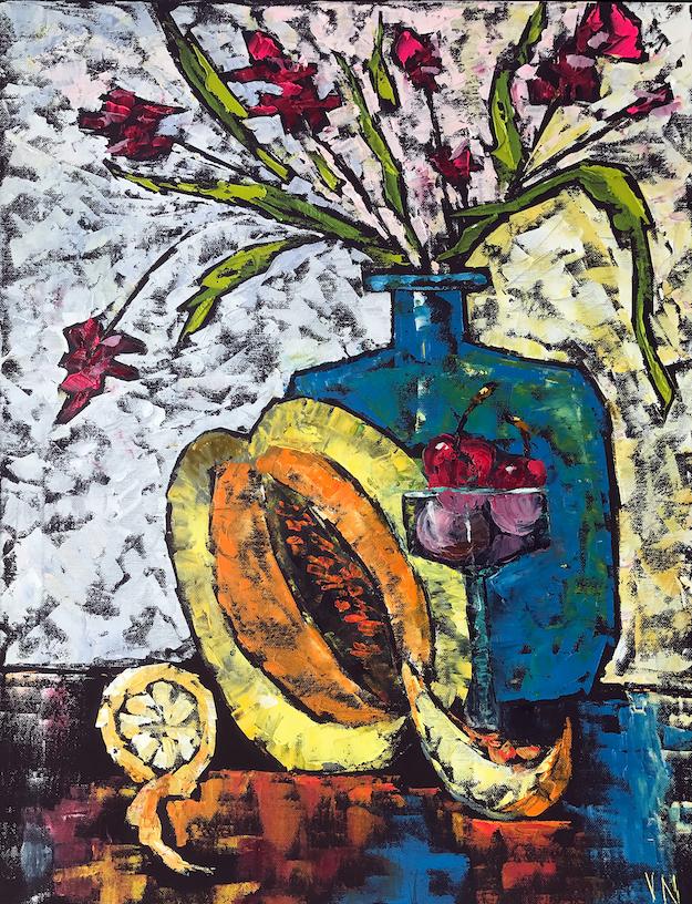 Vera Neel: Still Life with Melon