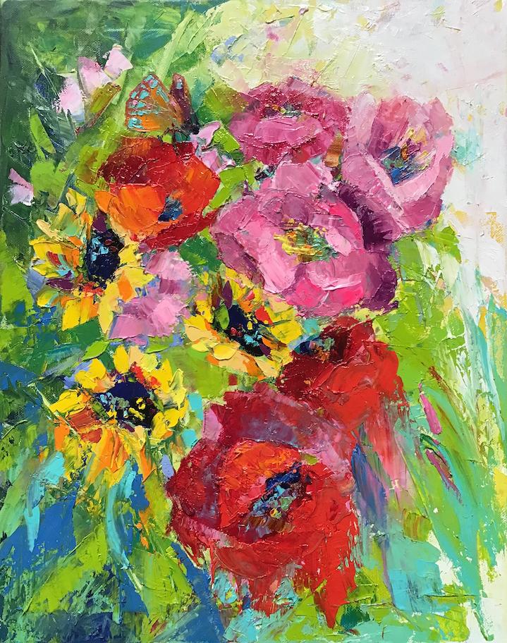 Vera Neel: Summer Flowers
