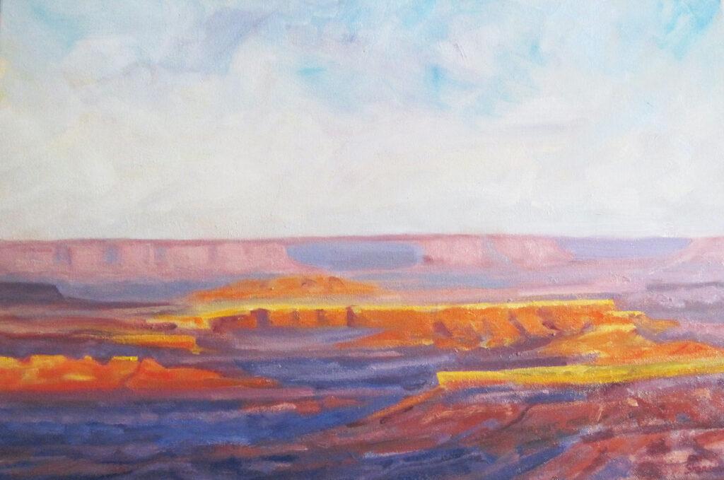 Marc Sherson: Sunset Under the Horizon
