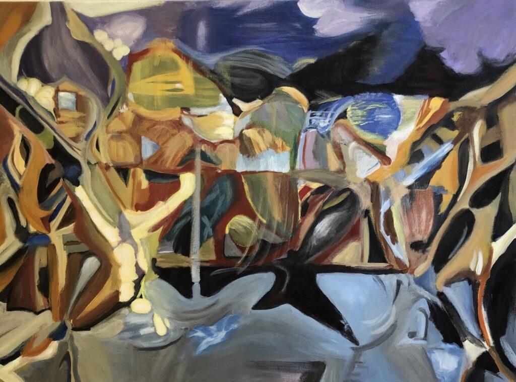Ginna Heiden: The Crossing