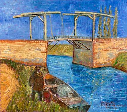 Santiago Pérez: Van Gogh's Pont d' Arles