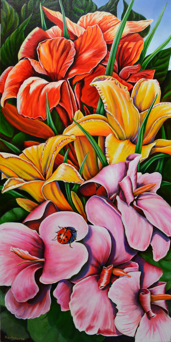 Sarah Hartshorne: With Flowers to Play