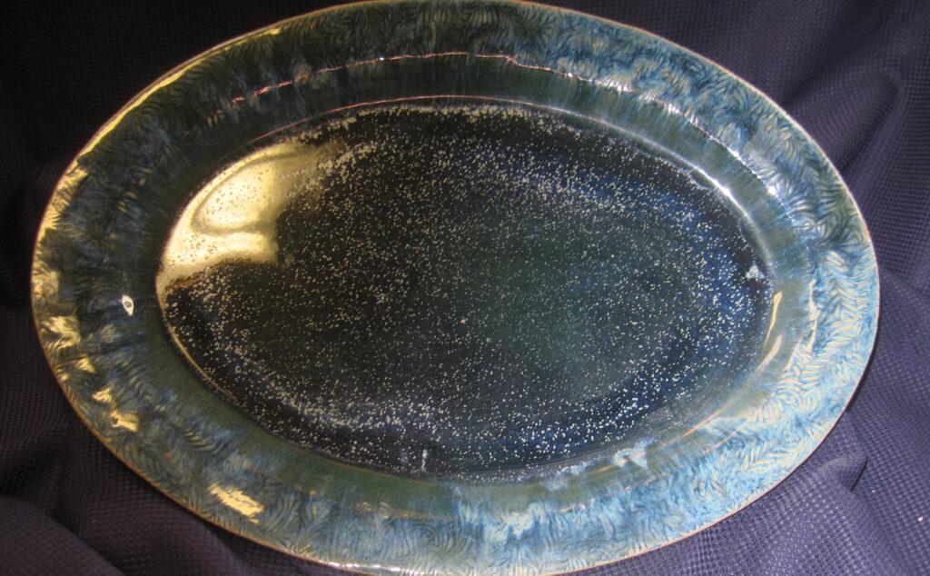 Rick Snow: Starry Night Platter
