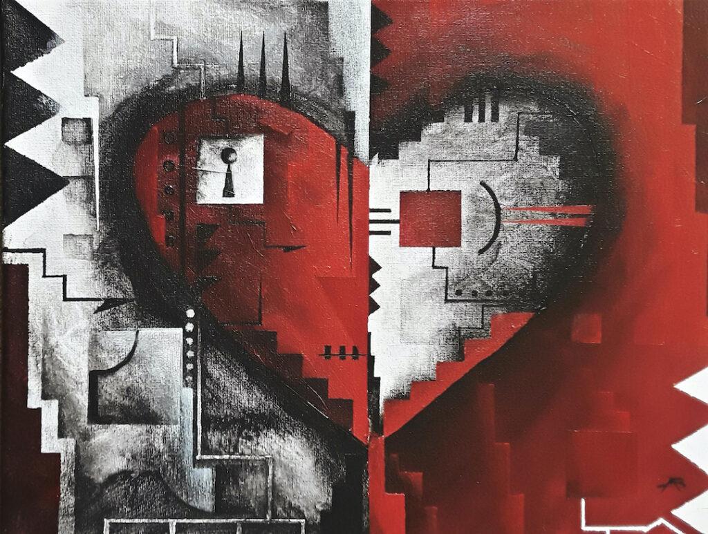 Brandon Allebach: Abstract Heart