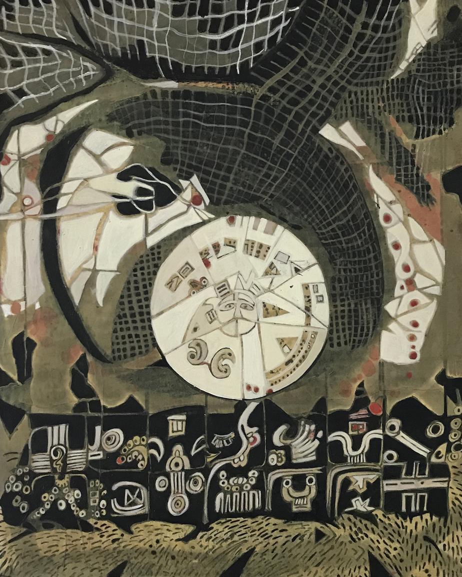 Harriette Tsosie: Astronomical (Mayan)