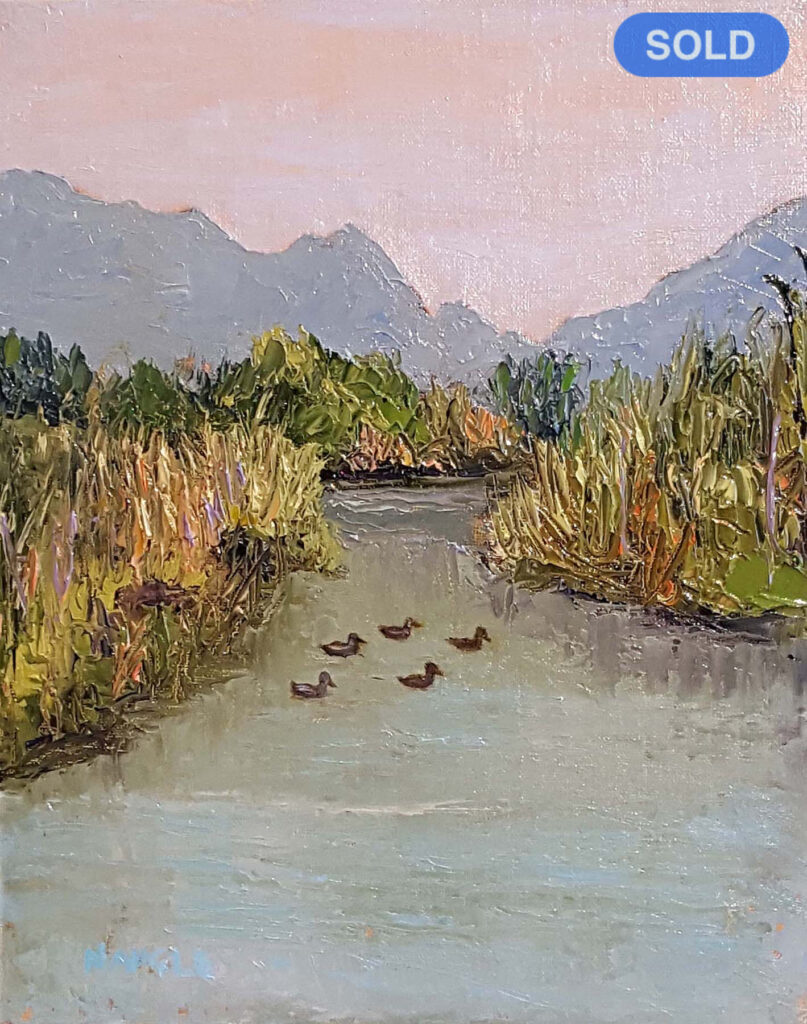 James Naugle: Bachechi Open Space Duck Party SOLD