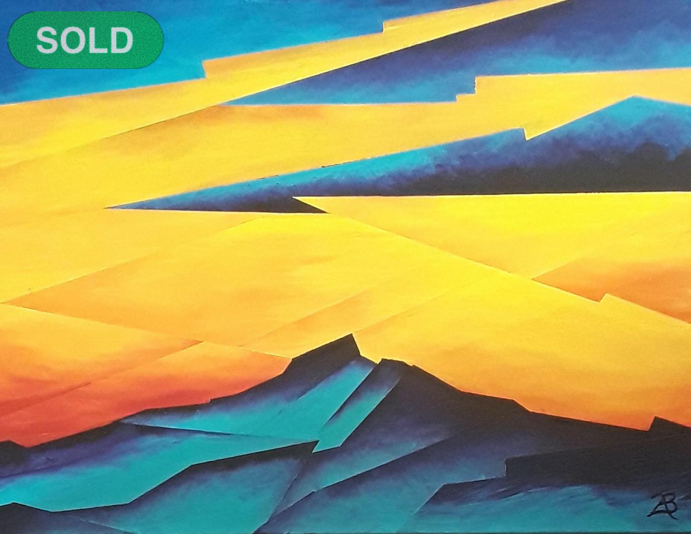 Brandon Allebach: The Blue SOLD