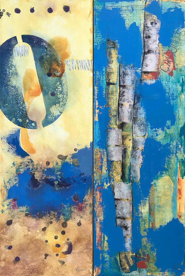 Rebecca Nolda/P.K. Williams: Blue Dialogue