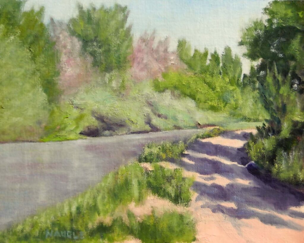 James Naugle: Bosque Trail Morning Light