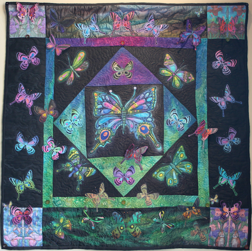 Judith Roderick: Butterfly Quilt Amish Style