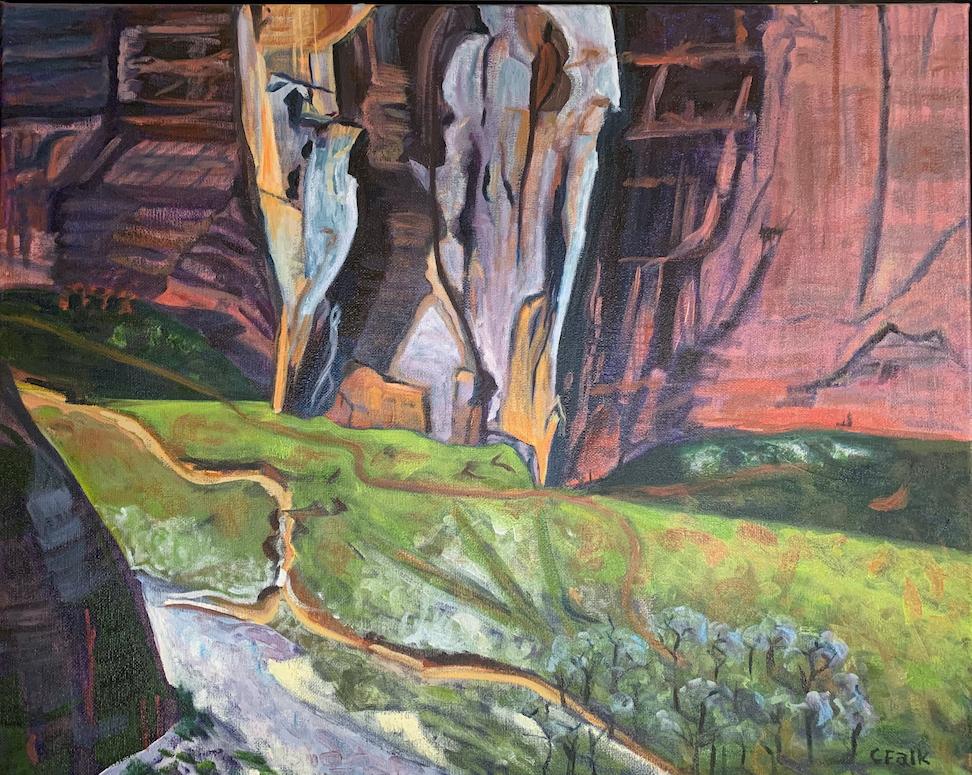 Connie Falk: Canyon de Chelly