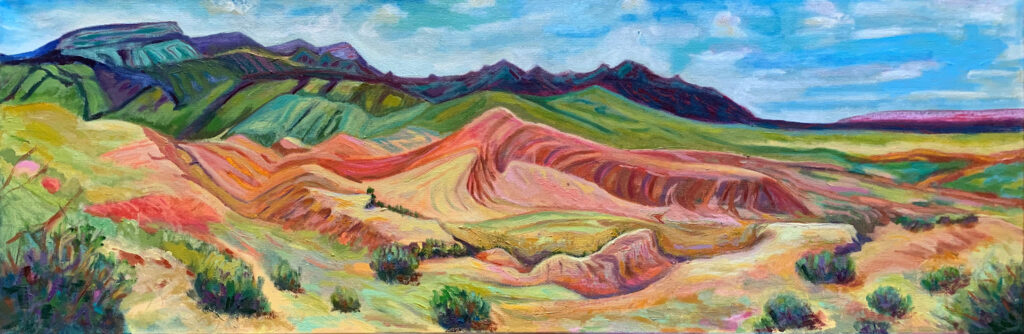 Connie Falk: Chalk Dust Trail 2